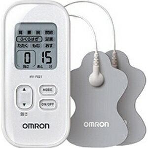 【送料無料】 オムロン OMRON 低周波治療器 HV-F021-W ホワイト[HVF021W]