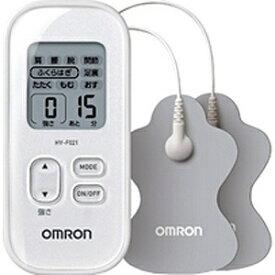 オムロン OMRON 低周波治療器 HV-F021-W ホワイト[HVF021W]