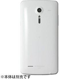 au エーユー 【au純正】背面カバー (ホワイト) LGL22TWA [isai LGL22対応]