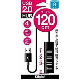 ナカバヤシ Nakabayashi UH-2314N USBハブ ブラック [USB2.0対応 / 4ポート / バスパワー][UH2314NBK]