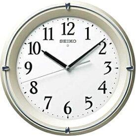 セイコー SEIKO 掛け時計 【全面点灯】 薄金色パール KX381S [電波自動受信機能有]