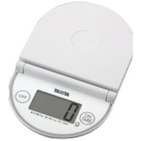 タニタ TANITA デジタルクッキングスケール(2kg) KD-184N-WH ホワイト[KD184NWH]