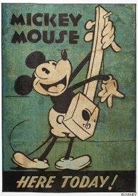 スミノエ SUMINOE ラグ ミッキーマウス/ミュージック(100×140cm/グリーン)【日本製】[DRM1034100X140]