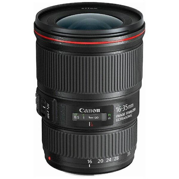 【送料無料】 キヤノン CANON 交換レンズ EF16-35mm F4L IS USM【キヤノンEFマウント】【日本製】[EF163540LIS]