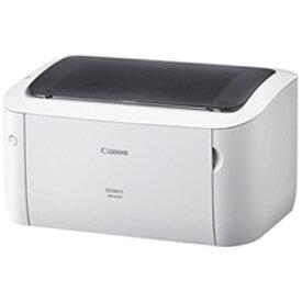 キヤノン CANON LBP6030 モノクロレーザープリンター Satera ホワイト [はがき〜A4][LBP6030]【プリンタ】