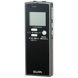 ELPA エルパ ADK-ICR500 ICレコーダー [4GB][録音機 ボイスレコーダー 小型 高音質 長時間]