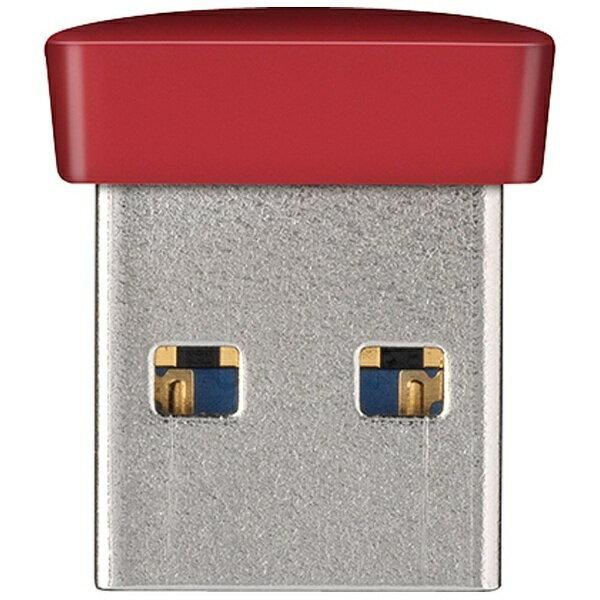 BUFFALO バッファロー USB3.0メモリ RUF3-PSシリーズ (8GB・レッド) RUF3-PS8G-RD[RUF3PS8GRD]