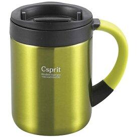 キャプテンスタッグ CAPTAIN STAG シーエスプリ ダブルステンレスマグカップ280(ライムグリーン) M5366