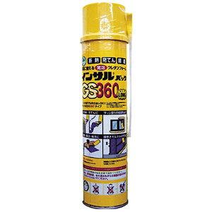 ABC エー・ビー・シー 一液型簡易発泡ウレタン(ノズル充填タイプ) GS360570g GS360L