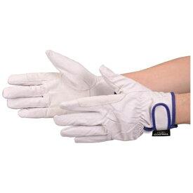 トラスコ中山 マジック式防寒豚本革手袋 当て付タイプ Lサイズ TWLGL