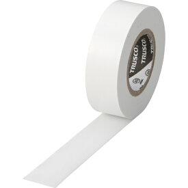 トラスコ中山 脱鉛タイプ ビニールテープ 19X10m ホワイト 1巻 TM1910W1P