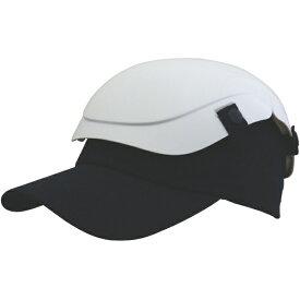トラスコ中山 防災用セーフティ帽子 キャメット ホワイト TSCMW