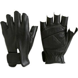 トラスコ中山 防振防滑手袋 ハーフフィンガー Mサイズ TPG855M