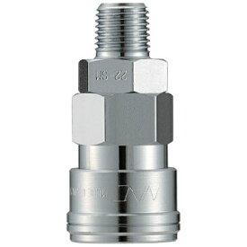 長堀工業 NAC クイックカップリング AL20型 鋼鉄製 メネジ取付用 CAL22SM