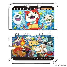 プレックス PLEX 妖怪ウォッチ NINTENDO 3DS LL専用 カスタムハードカバー2 妖怪大集合Ver.【3DS LL】