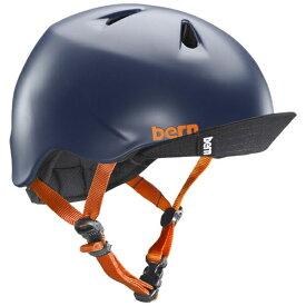 BERN バーン 子供用ヘルメット NINO ALL SEASON (Matte Navy/ S-Mサイズ:51.5〜54.5cm) BE-VJBSNVV-12
