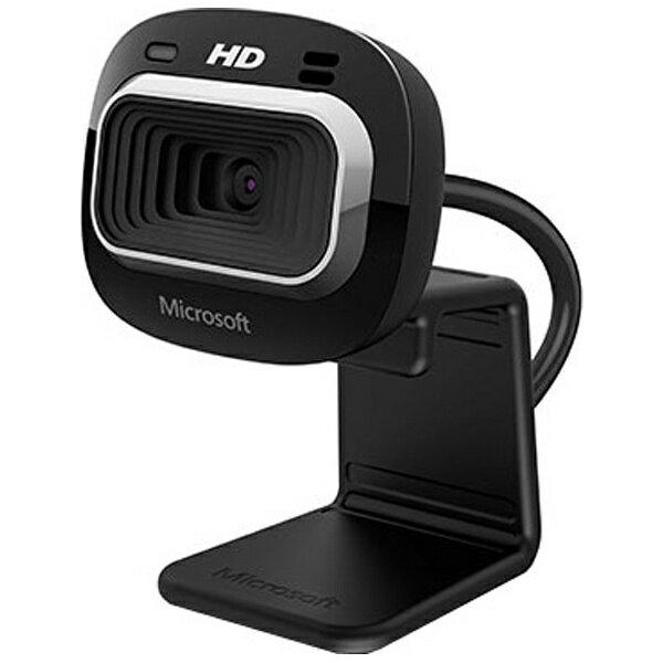 マイクロソフト WEBカメラ[USB・720p HD] LifeCam HD-3000 for Business (ブラック/ビジネスモデル・茶箱) T4H-00006