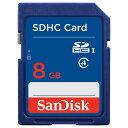 サンディスク 8GB・Class4対応SDHCカード SDSDB-008G-J01[SDSDB008GJ01]