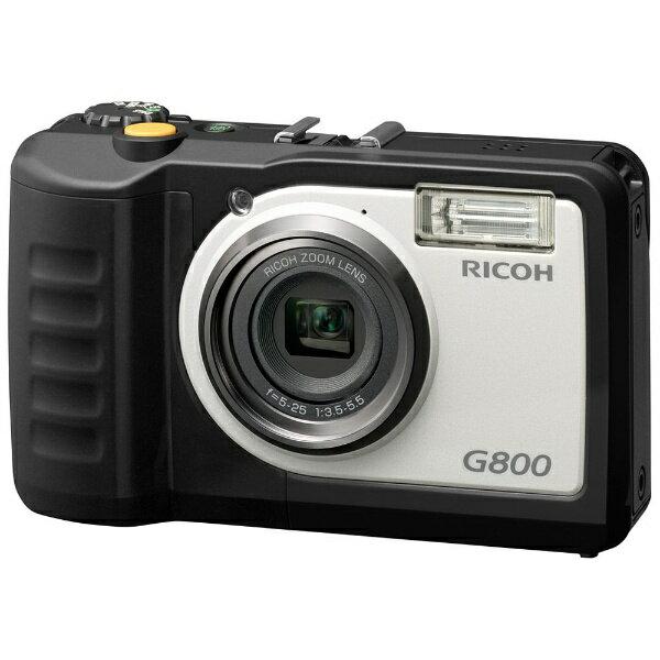 【送料無料】 リコー RICOH G800 コンパクトデジタルカメラ [防水+防塵+耐衝撃][G800]