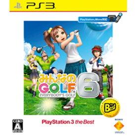 ソニーインタラクティブエンタテインメント Sony Interactive Entertainmen みんなのGOLF 6 PlayStation3 the Best【PS3ゲームソフト】