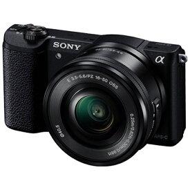 ソニー SONY α5100 パワーズームレンズキット(ブラック/ミラーレス一眼カメラ)ILCE-5100L[ILCE5100LB]