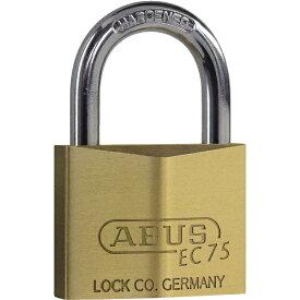 アバス ABUS 真鍮南京錠 ディンプルシリンダー バラ番 EC75-60KD