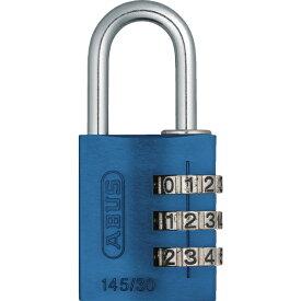 アバス ABUS ナンバー可変式南京錠 145-30 ブルー 14530BL