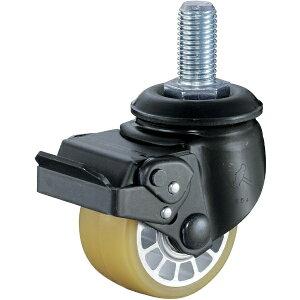 ハンマーキャスターセールス HAMMER CASTER 低床式重荷重用ねじ式SP付ウレタン車B入り75mmM20XP2.5 545SABAU75BAR01