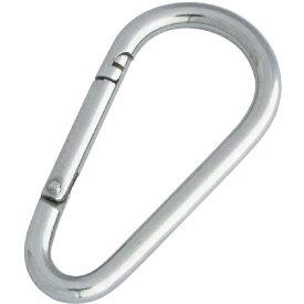水本機械製作所 MIZUMOTO MACHINE ステンレス ナス型カラビナ(環なし) 線径3mm長さ38mm B1972