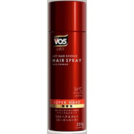 サンスター SUNSTAR VO5(ヴイオーファイブ) for MEN ヘアスプレイ スーパーハード微香性(355g)〔ヘアスプレー〕 〔スタイリング剤〕【wtcool】