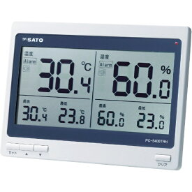 佐藤計量器製作所 skSATO デジタル温湿度計 PC−5400TRH PC5400TRH