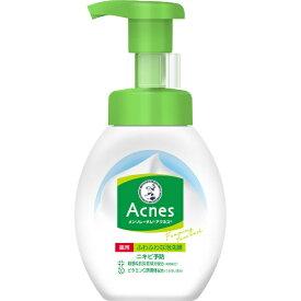 ロート製薬 ROHTO MENTHOLATUM(メンソレータム)アクネス薬用ふわふわな泡洗顔(160ml)[泡洗顔]【wtcool】
