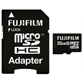 富士フイルム FUJIFILM microSDHCカード FMCSDHC032GC10 [32GB /Class10][FMCSDHC032GC10]