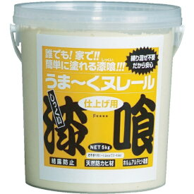 日本プラスター NIPPON PLASTER うま〜くヌレール 5kg 白色 12UN01