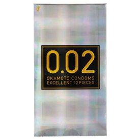 オカモト okamoto 薄さ均一 002EX ナチュラル 12個入り<コンドーム>〔避妊用品〕[0.02EX]
