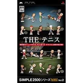 ディースリー・パブリッシャー D3 PUBLISHER SIMPLE2500シリーズ Portable!! Vol.2 THE テニス【PSPゲームソフト】