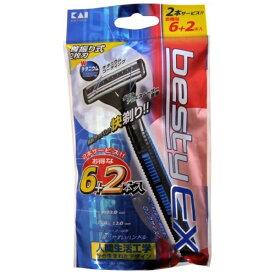 貝印 Kai Corporation ベスティーEX(首振り式) 6+2本入