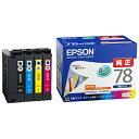 【送料無料】 エプソン EPSON 【純正】 インクカートリッジ (4色パック) IC4CL78
