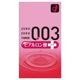 オカモト okamoto ゼロゼロスリー 003 ヒアルロン酸プラス 10個入<コンドーム>〔避妊用品〕