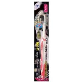 デンタルプロ DENTALPRO ブラック ホワイトニング 歯ブラシ ふつう 1本入り ブラック