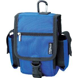 トラスコ中山 コンパクトツールケース ツーサイドポケット ブルー TCTC1808BL