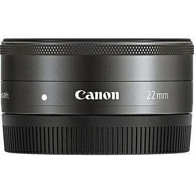 キヤノン CANON カメラレンズ EF-M22mm F2 STM【キヤノンEF-Mマウント】[EFM222STM]