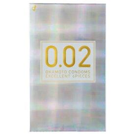 オカモト okamoto 薄さ均一 002EX ナチュラル 6個入り<コンドーム>〔避妊用品〕[0.02EX]