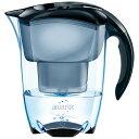 ブリタ ポット型浄水器「エレマリスCOOLブラックブリタメーター」(浄水部容量:1.4L) BJ-NECB[BJNECB]
