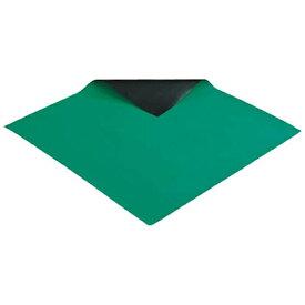 ホーザン HOZAN 導電性カラ−マット 1×1M グリーン 補強繊維入り F78