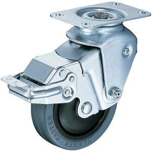 ハンマーキャスターセールス HAMMER CASTER クッションキャスター 自在SP付 ゴム車 線径2.0mm 935BBEFR10020BAR01