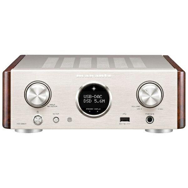 マランツ 【ハイレゾ音源対応】ヘッドホンアンプ DAC付 HD-DAC1/FN[HDDAC1FN]