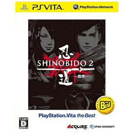 スパイクチュンソフト Spike Chunsoft 忍道2 散華 PlayStation Vita the Best【PS Vitaゲームソフト】