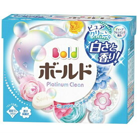 P&G ピーアンドジー Bold(ボールド)プラチナクリーン ピュアクリーンサボンの香り 粉末(850g)〔衣類洗剤〕