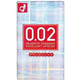 オカモト okamoto 薄さ均一 002EX グランズフィット 6個<コンドーム>〔避妊用品〕